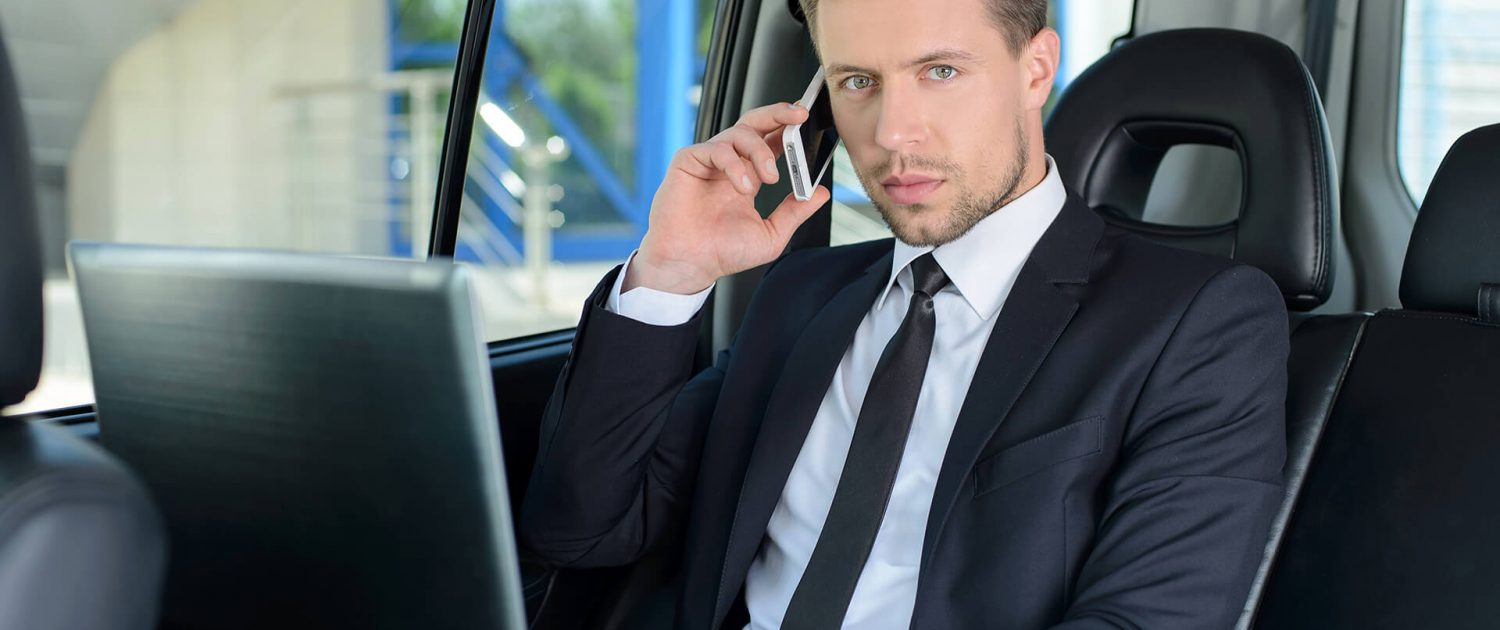 San Diego Business Executive Driving